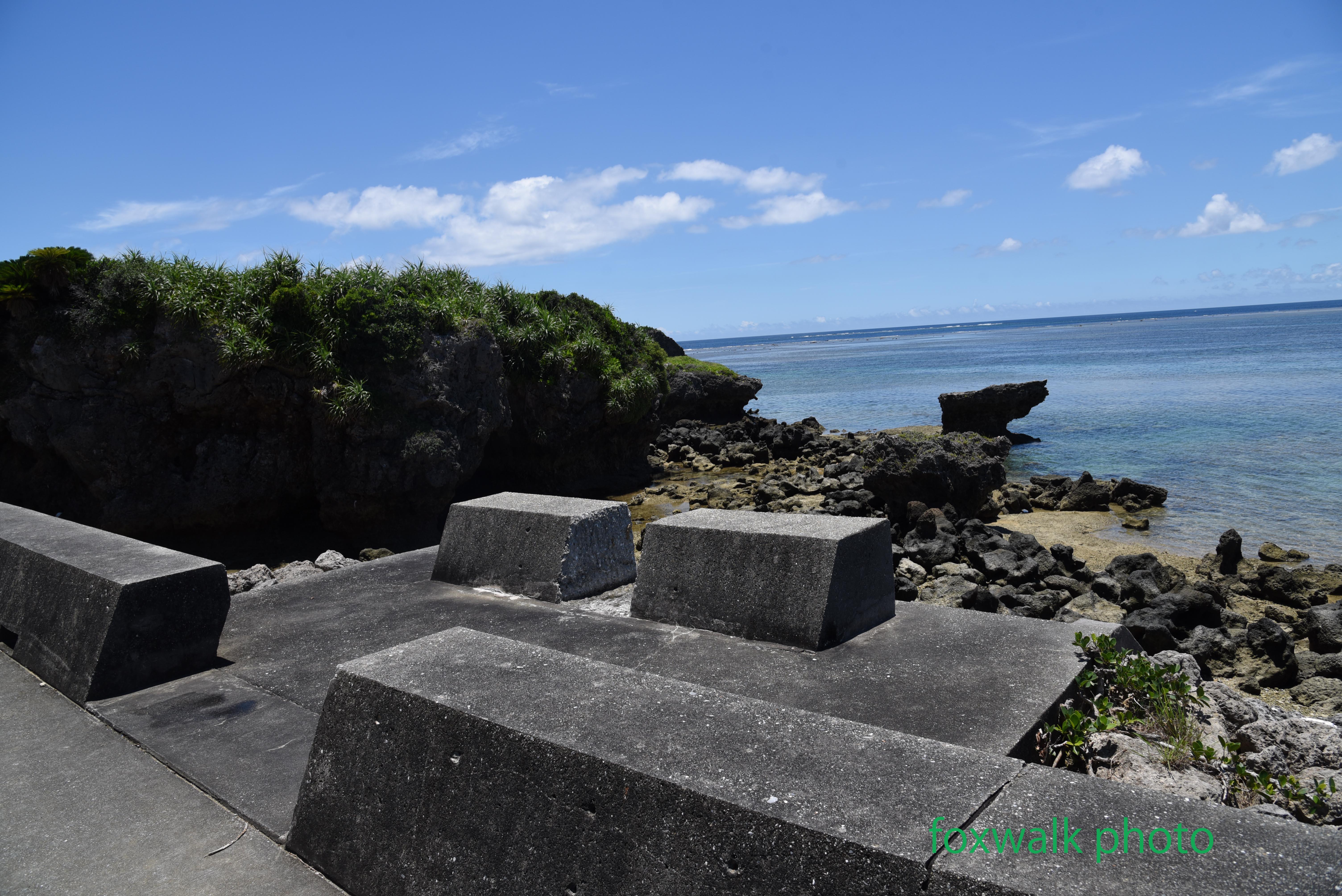 大神島の神様の通り道