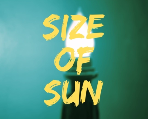 Size of sun